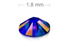 Swarovski Strasssteine - Meridian Blue irisierend - 1,8 mm