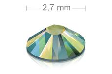 Swarovski Strasssteine - Green irisierend - 2,7 mm