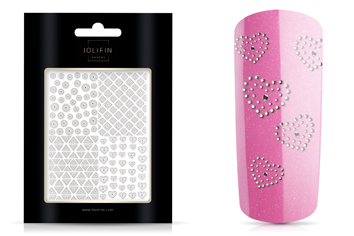 Jolifin LAVENI XL Sticker - Silver 1