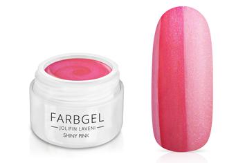 Jolifin LAVENI Farbgel - shiny pink 5ml