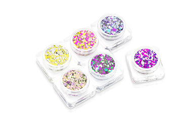 PNS24 Glitter Set - Chrome Pailletten