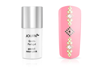Jolifin Carbon Quick-Farbgel pastell neon-pink 11ml