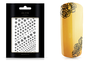 Jolifin LAVENI XL Sticker - Black 1