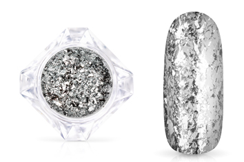 Jolifin LAVENI Mirror-Flakes - silver