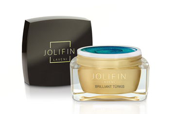 Jolifin LAVENI Farbgel - brilliant türkis 5ml