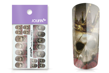 Jolifin Metallic Tattoo Wrap 2
