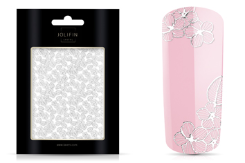 Jolifin LAVENI XL Sticker - Silver 5