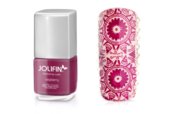 Jolifin Stamping-Lack - raspberry 12ml