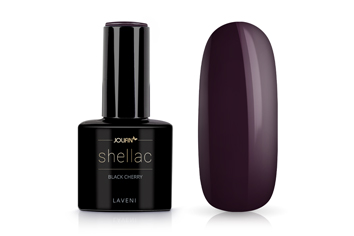 Jolifin LAVENI Shellac - black cherry 12ml