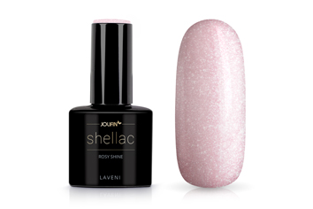 Jolifin LAVENI Shellac - rosy shine 12ml