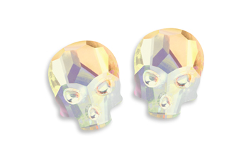 Jolifin Diamond Skull - apricot
