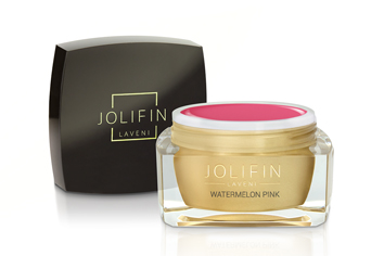 Jolifin LAVENI Farbgel - watermelon pink 5ml