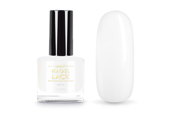 Jolifin LAVENI Nagellack - white 9ml