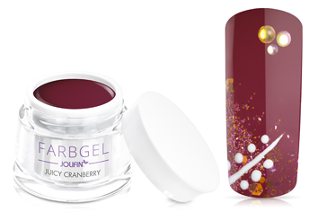 Jolifin Farbgel juicy cranberry 5ml