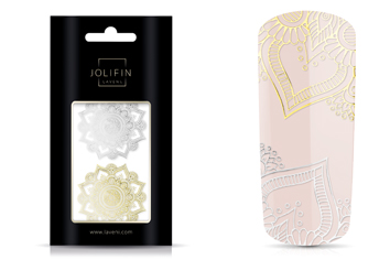 Jolifin LAVENI XL Lace Sticker - Nr. 1