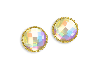 Jolifin LAVENI Strass-Diamond - Round gold