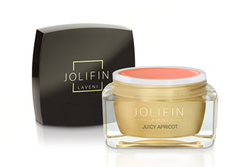 Jolifin LAVENI Farbgel - juicy apricot 5ml