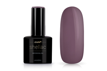 Jolifin LAVENI Shellac - brown blush 12ml