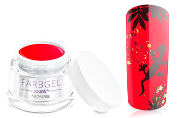 Jolifin Farbgel neon-fire 5ml