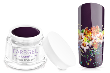 Jolifin Farbgel pure-blackberry 5ml