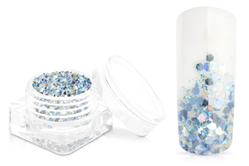 Jolifin Magic Glitter - powder blue