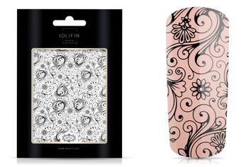 Jolifin LAVENI XL Sticker - Black 5