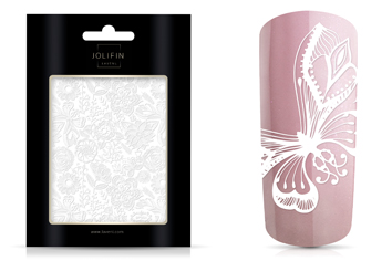 Jolifin LAVENI XL Sticker - White 2
