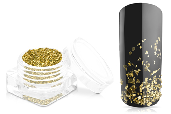 Jolifin Luxury Nailart Splitter - Gold fein