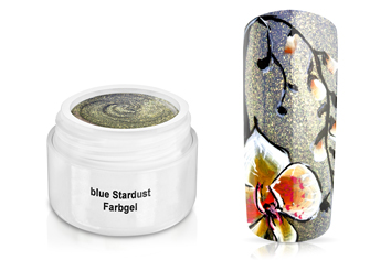 Farbgel blue Stardust 5ml