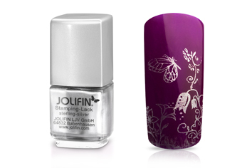 Jolifin Stamping-Lack - sterling silver 12ml