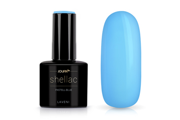 Jolifin LAVENI Shellac - pastell-blue 12ml