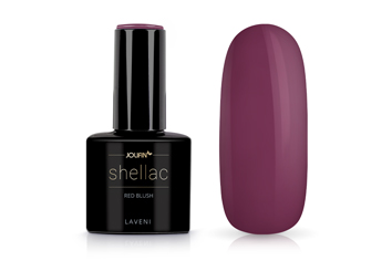 Jolifin LAVENI Shellac - red blush 12ml