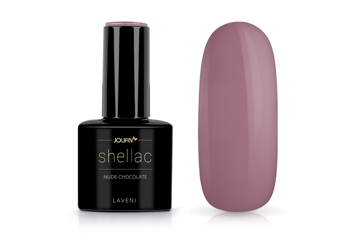 Jolifin LAVENI Shellac - nude-chocolate 12ml