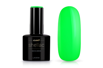 Jolifin LAVENI Shellac - neon-green 12ml