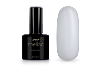 Jolifin LAVENI Shellac - pastell-grey 12ml