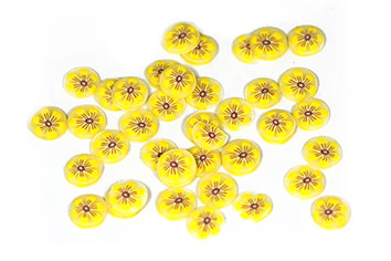 Fimo Bloomys - yellow