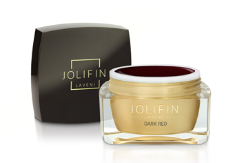 Jolifin LAVENI Farbgel - dark red 5ml