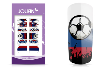 Jolifin Tattoo Wrap WM 2018 - Russland