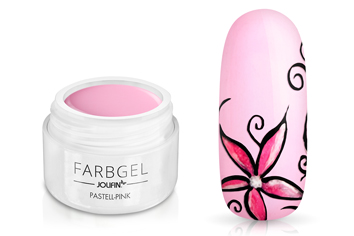 Jolifin Farbgel pastell-pink 5ml