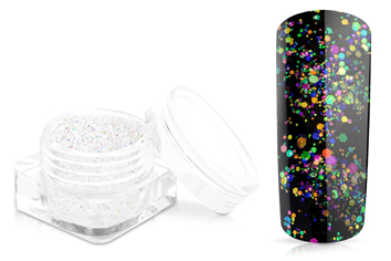 Jolifin Illusion Glitter Aurora multicolor