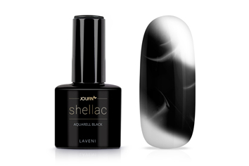 Jolifin LAVENI Shellac Aquarell - black 12ml