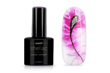 Jolifin LAVENI Shellac Aquarell - raspberry 12ml