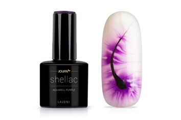 Jolifin LAVENI Shellac Aquarell - purple 12ml