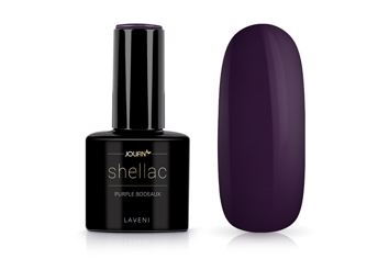 Jolifin LAVENI Shellac - purple bordeaux 12ml