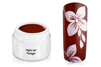 Farbgel night red 5ml