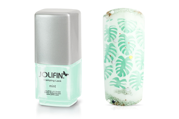 Jolifin Stamping-Lack - mint 12ml