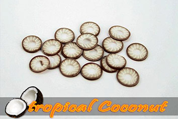 Fimo Frootys - tropical Coconut