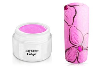 Farbgel baby Glitter 5ml