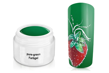 Farbgel pure-green 5ml