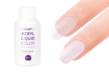 Jolifin Color Acryl-Liquid - dark pink/make-up 50ml